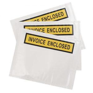 Invoice Enclosed Envelopes